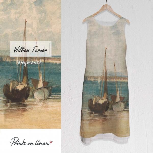 Long linen dress / William Turner