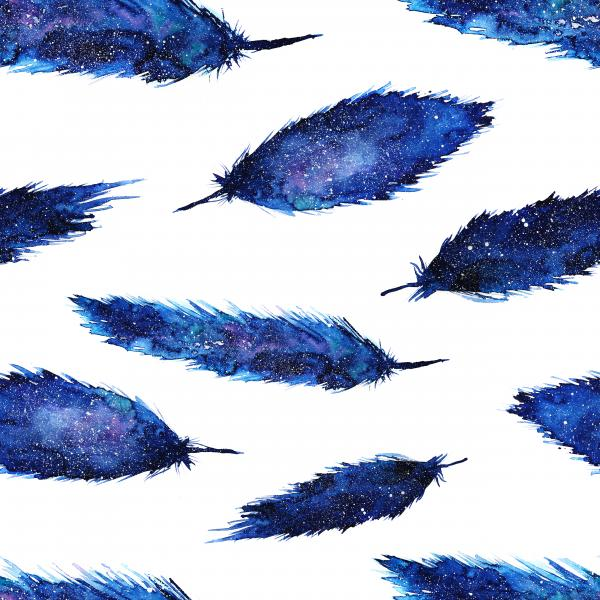 Space feathers