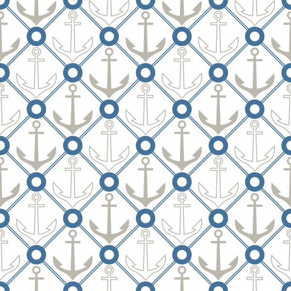 Geometric anchor pattern