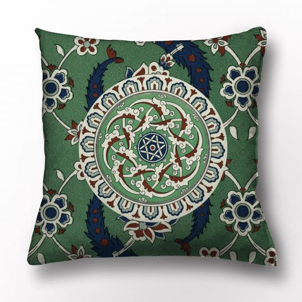 Cushion cover / L'ornement Polychrome IV