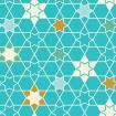 Moroccan Stars - Turquoise
