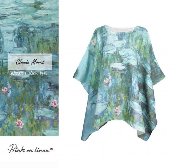 One size tunic / Water Lilies 1915