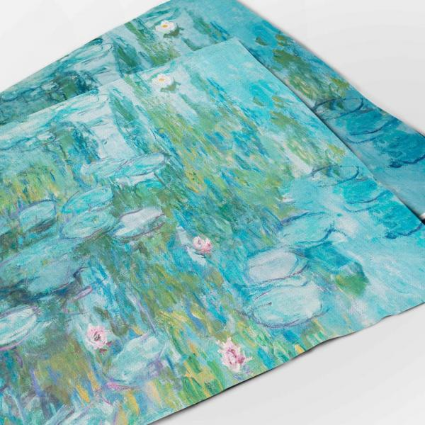 Placemats set / Water lilies