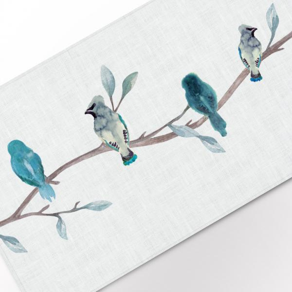 "Table runner ""Birds"""