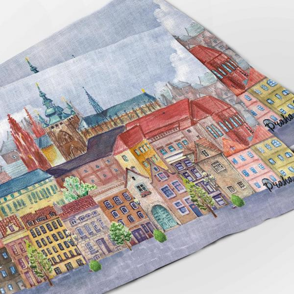 Placemats set / Prague city