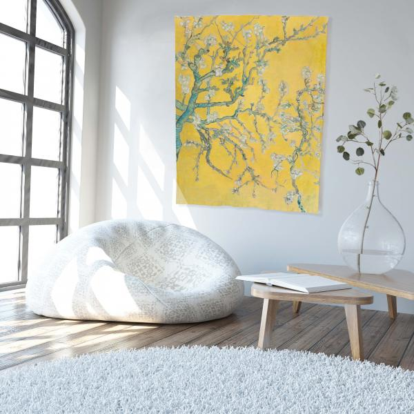 Wall tapestry / Almond Blossom Yellow