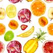 Juicy fruits pattern