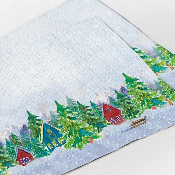 Placemats set / Forester's Hut