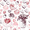 Romantic pattern for lovers