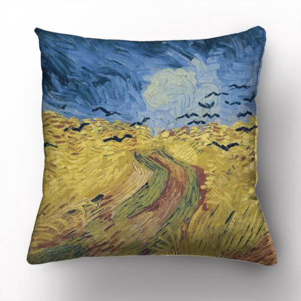 Cushion cover / Wheatfield With Crows