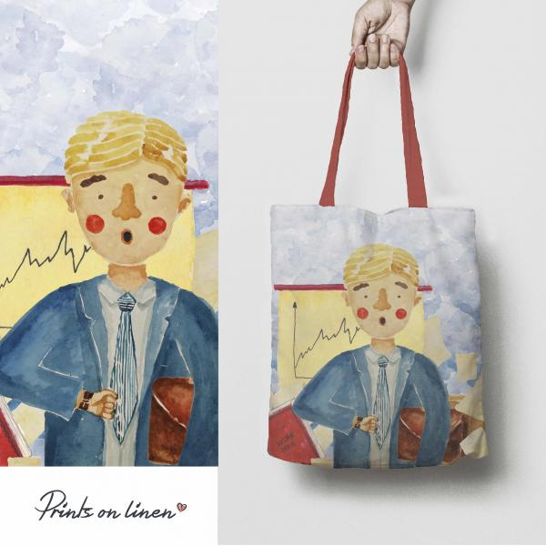 Tote bag / Manager man