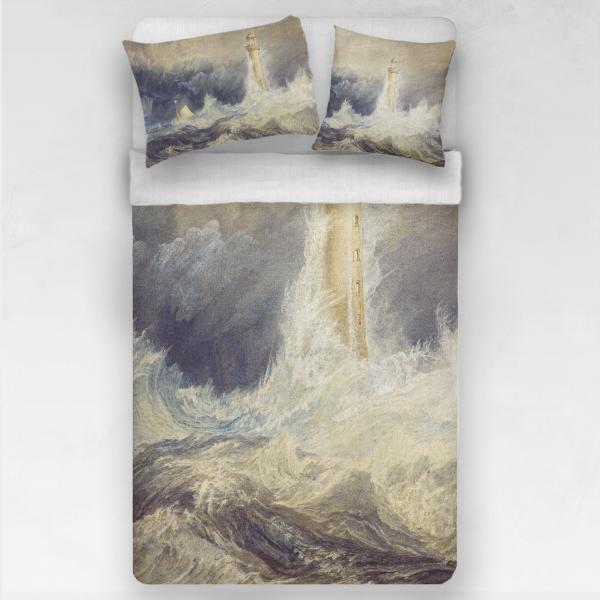 Linen bedding set / Lighthouse