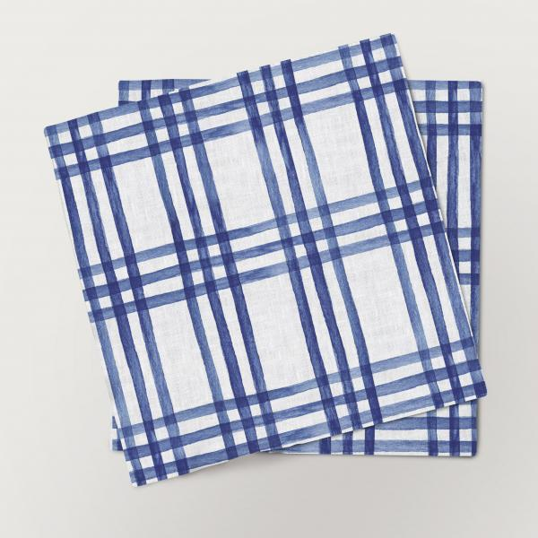 Napkins set / Christmas Letters (Ornaments) Blue