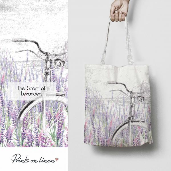 Tote bag / The Scent of Levanders