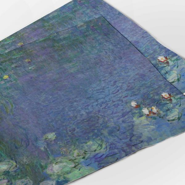 Placemats set / The Water Lilies - Morning