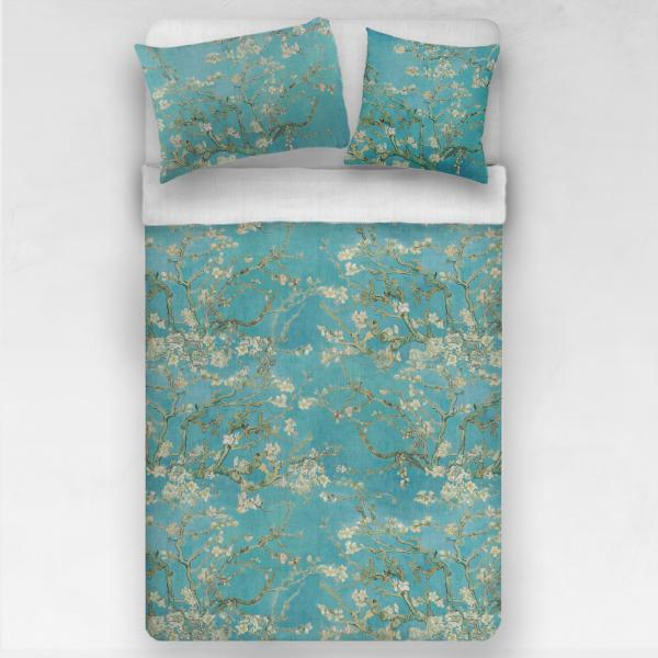 Linen bedding set / Almond blossom