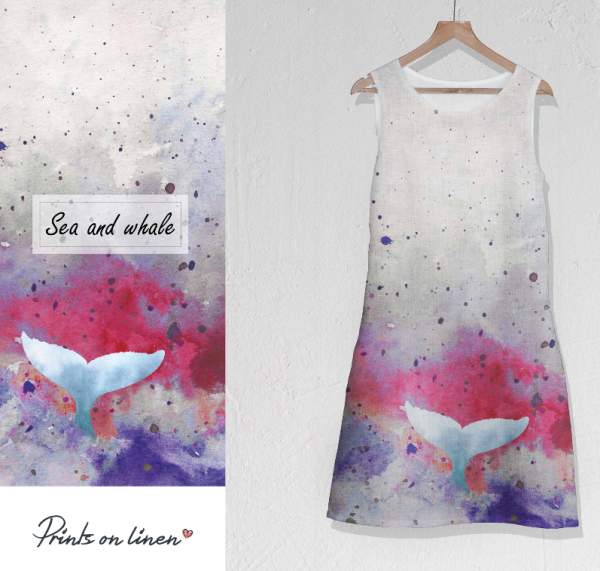 Dress / Cosmic / Sea and Whale