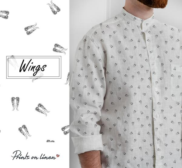 Mens shirt / Wings