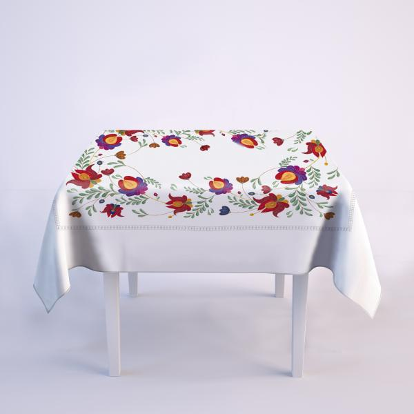 "Tablecloth ""Embroidery imitation"""