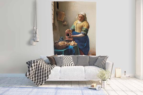 Wall tapestry /  The Milkmaid