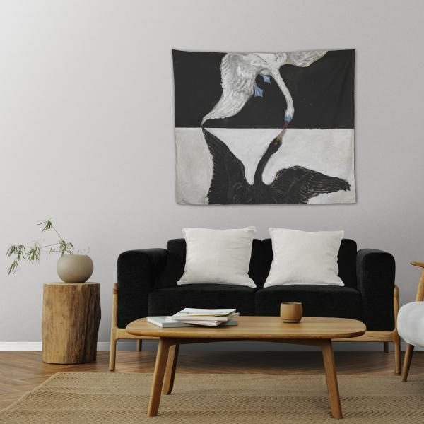 Wall tapestry / The Swan