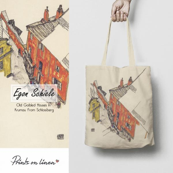 Tote bag / Old Gabled Houses