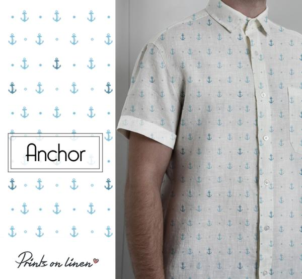 Men shirt / Anchor