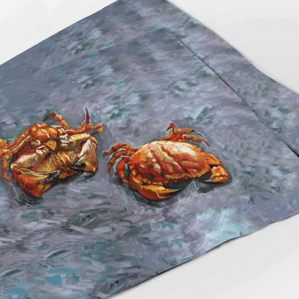 "Placemats ""Two Crabs"""