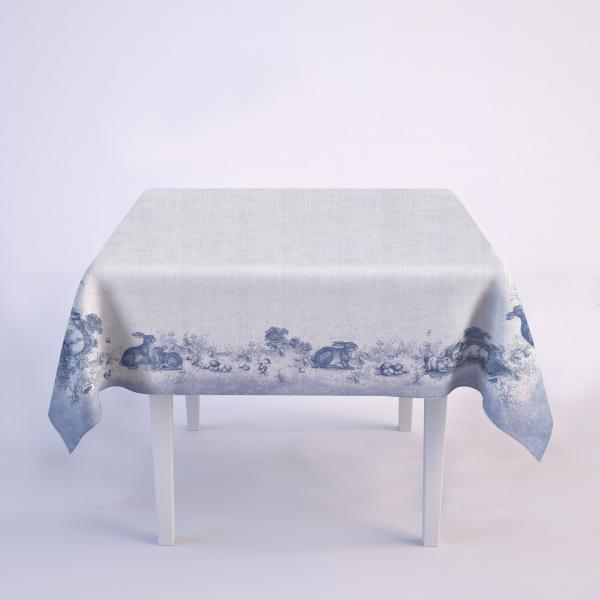 Tablecloth /  Toile de Jouy Easter