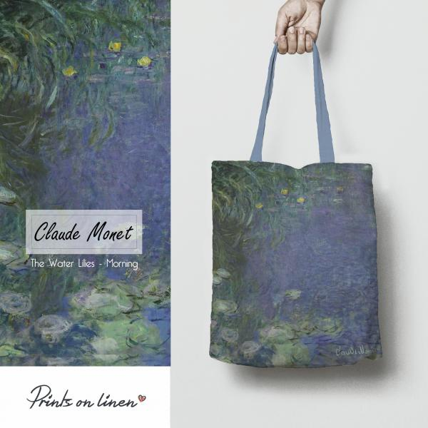 Tote bag / The Water Lilies - Morning