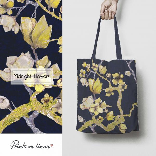 Tote bag / Midnight Flowers
