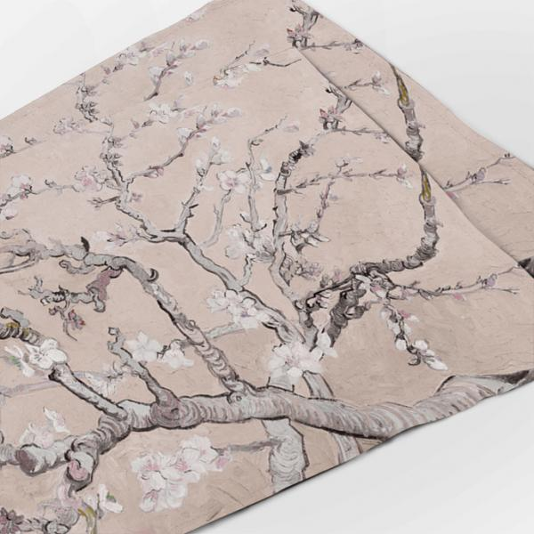 """Placemats """"Almond blossom"""" / nude"""