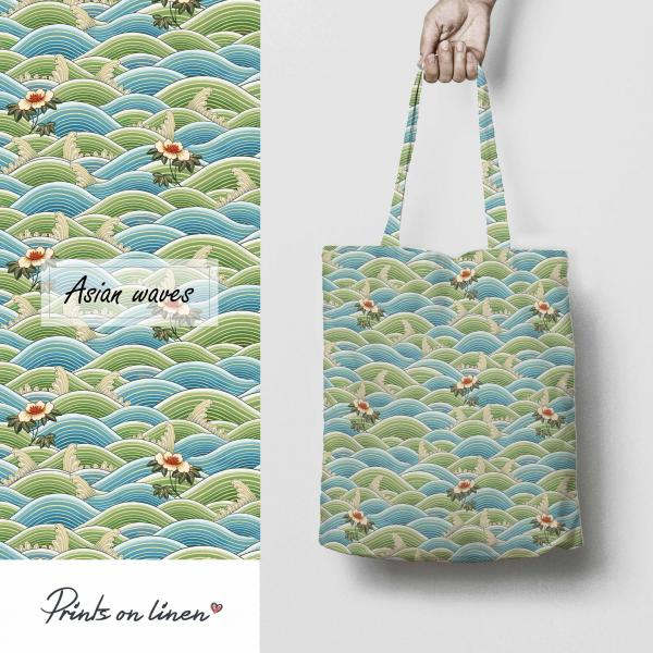 Tote bag / Asian Wave
