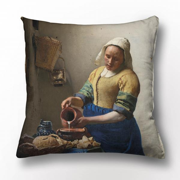 Cushion cover / The Milkmaid
