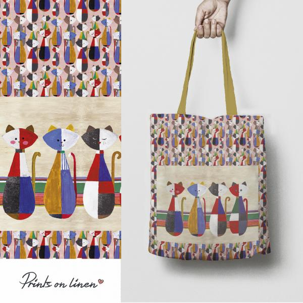 Tote bag / Cats from a Childhood
