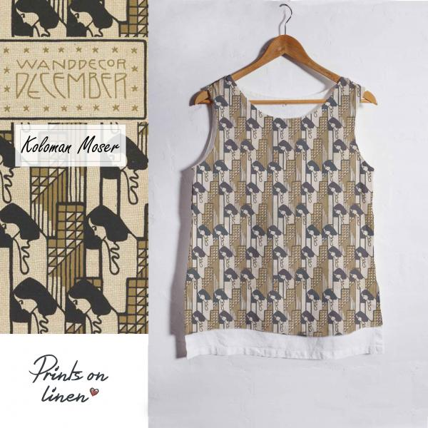 Linen tank top / Wanddecor December
