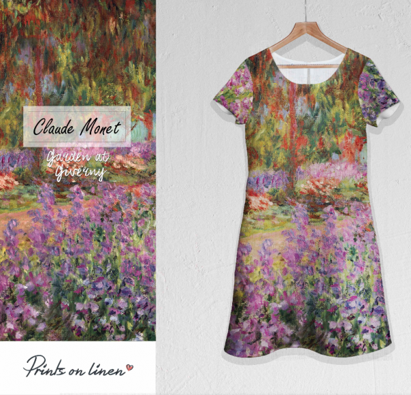 Dress / Claude Monet / Garden at Giverny