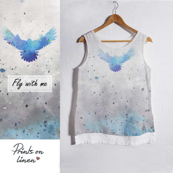 Linen tank top / Fly with me