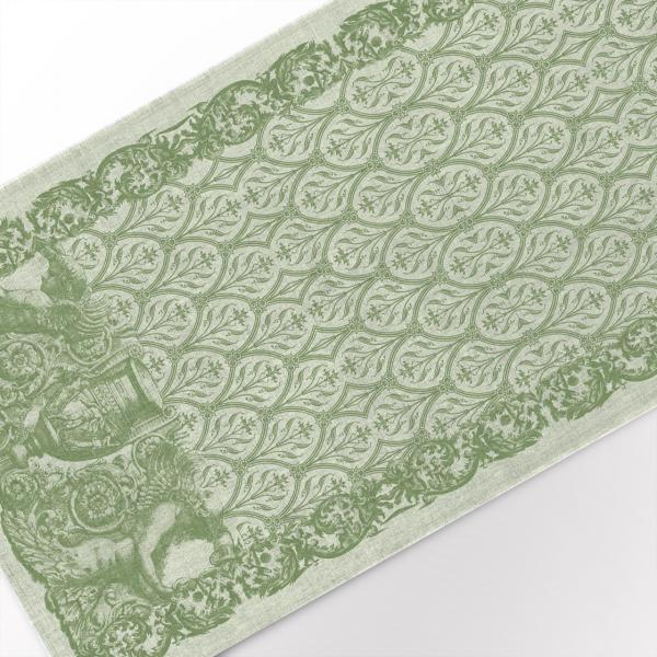 Table runner / Solid Green