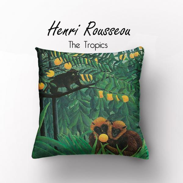 Cushion cover / Henri Rousseou