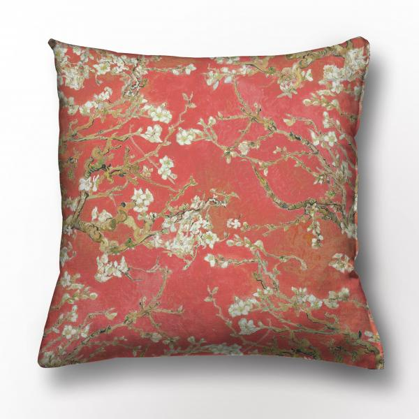 Cushion cover / Almond Blossom / Apple red