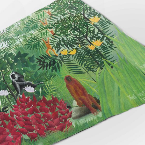 Placemats set / Tropical Forest with Monkeys