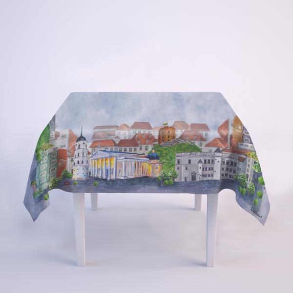Tablecloth / Vilnius I Love