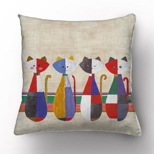 Cushion cover / Cats from a Childhood