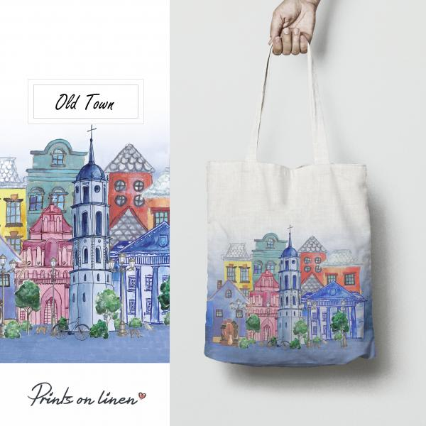 Tote bag / Old town