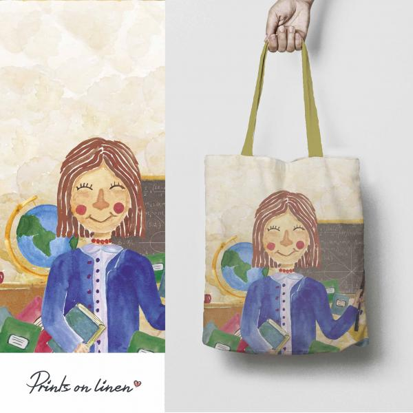 Tote bag / Teacher woman