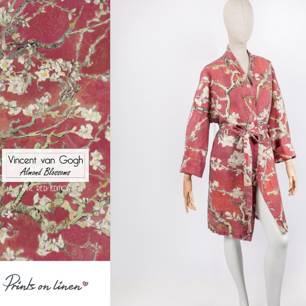 Robe / Almond Blossom (Wine Red)