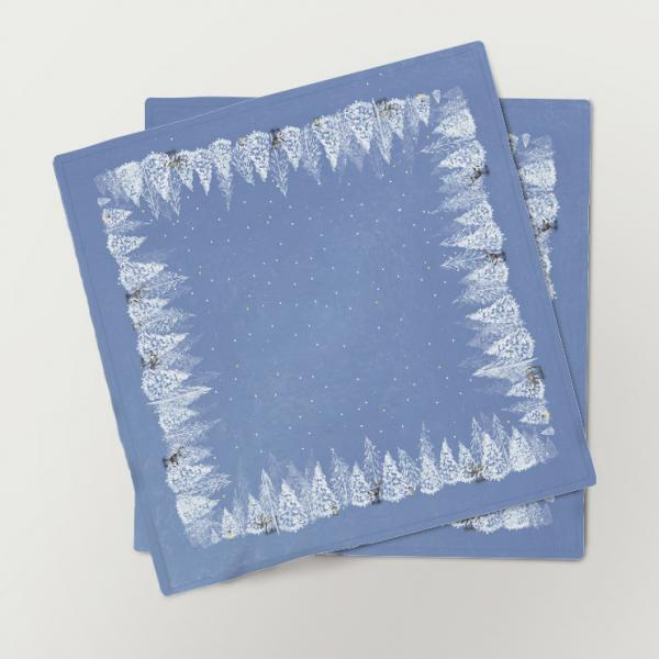 "Napkins ""Winter morning"" (6 unit set)"