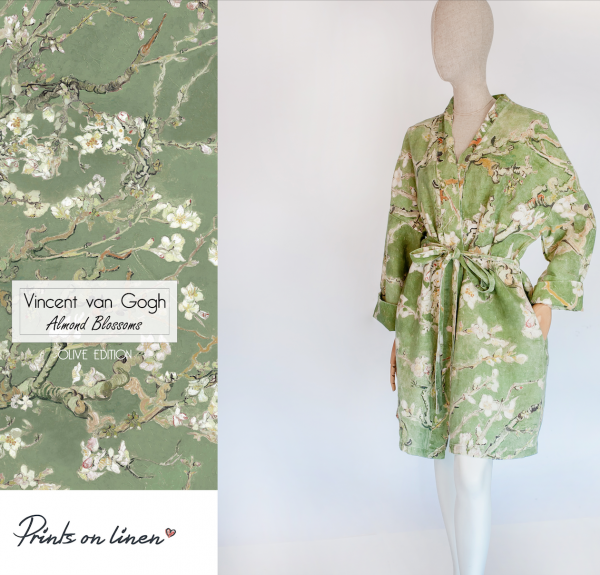 Robe / Almond Blossom (Olive)