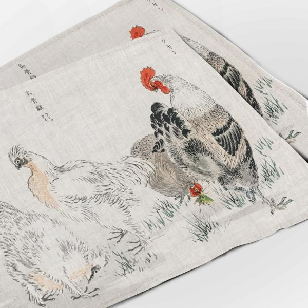 Placemats set / Monograph of Birds